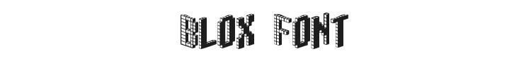 Blox Font Preview