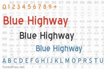 Blue Highway Font