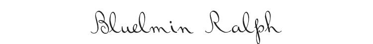 Bluelmin Ralph Font