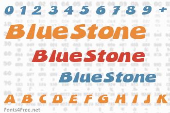 BlueStone Font