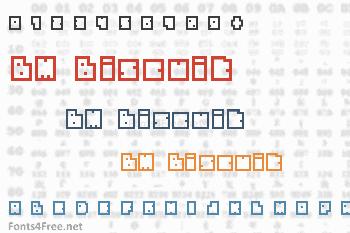 BM Biscuit Font
