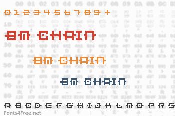 BM Chain Font