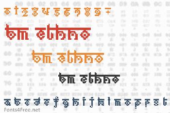 BM Ethno Font