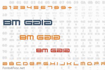 BM Gaia Font
