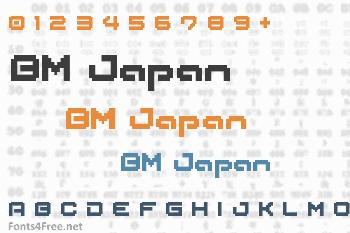 BM Japan Font