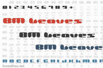 BM Leaves Font