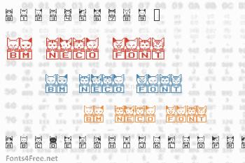 BM Neco Font