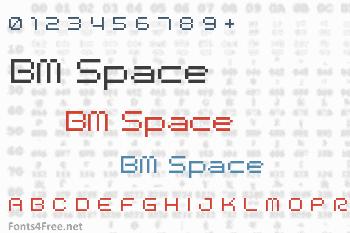 BM Space Font