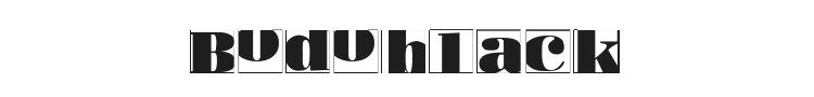 Bodoblack Squares Font Preview