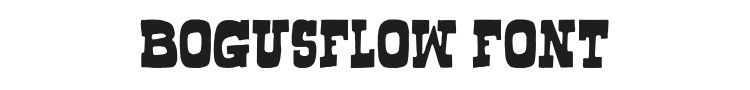 Bogusflow Font Preview