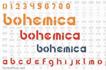 Bohemica Font