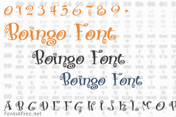 Boingo Font