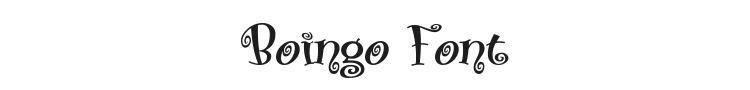Boingo Font Preview