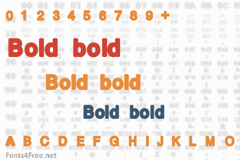 Bold bold Font