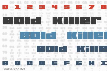 Bold Killer Font