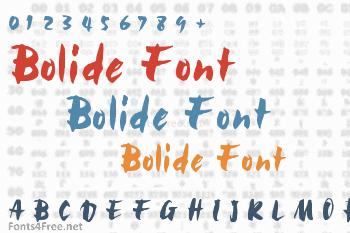 Bolide Font