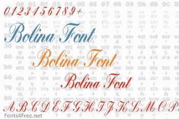 Bolina Font