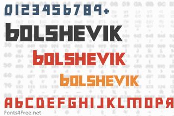 Bolshevik Font