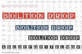 Bolton Drop Caps Font