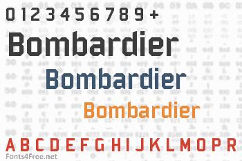 Bombardier Font