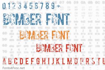 Bomber Font