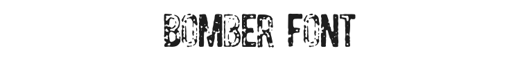 Bomber Font Preview
