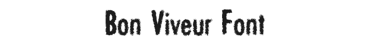 Bon Viveur Font Preview