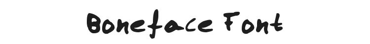 Boneface Font Preview