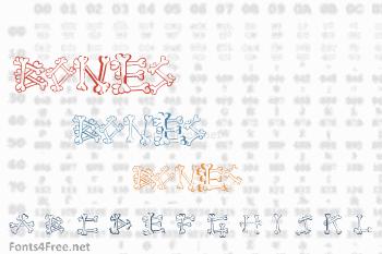 Bones 2 Font