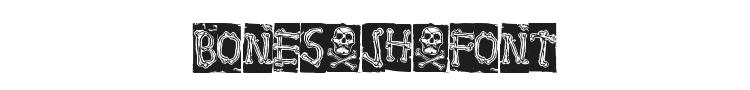 Bones Jh Font Preview