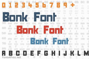 Bonk Font