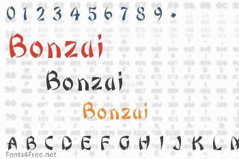 Bonzai Font