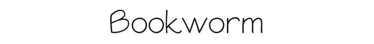 Bookworm Font Preview