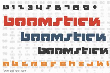 Boomstick Font