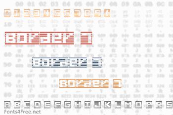 Border 7 Font