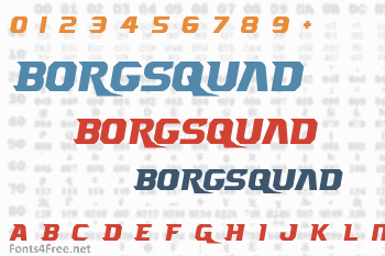Borgsquad Font