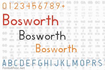 Bosworth Font