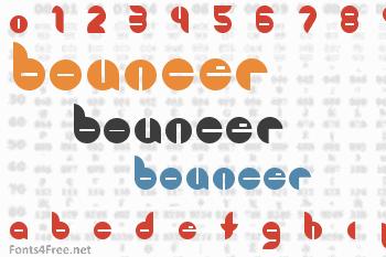 Bouncer Font