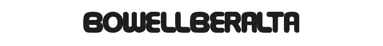 Bowellberalta Font