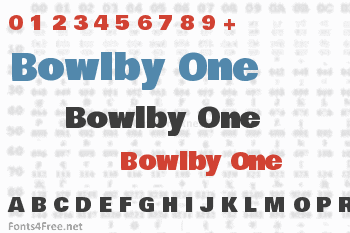 Bowlby One Font
