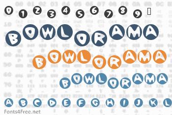 BowlORama Font