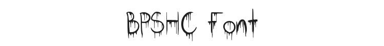 BPSHC Font