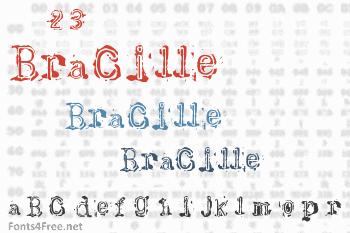 Bracille Font