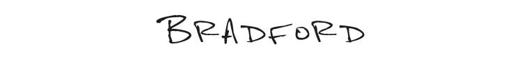 Bradford Font Preview