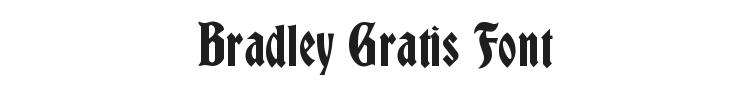 Bradley Gratis Font Preview