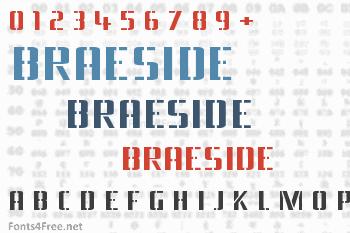 Braeside Font