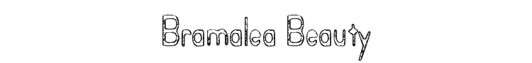 Bramalea Beauty Font Preview