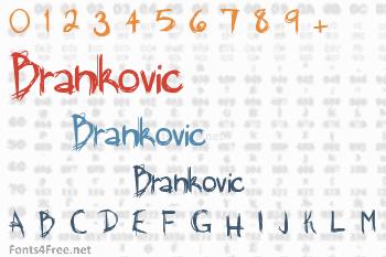 Brankovic Font