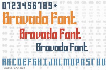 Bravado Font