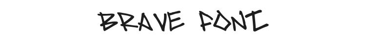 Brave Font